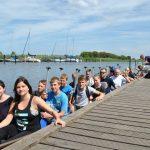 Sommerkurs beim Drachenbootfahren